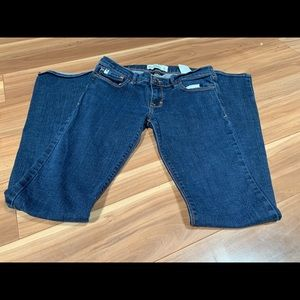 Abercrombie cute stretch bell bottom jeans